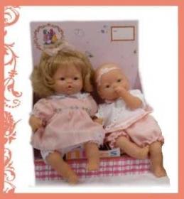Muñecas Leonor con Sofía