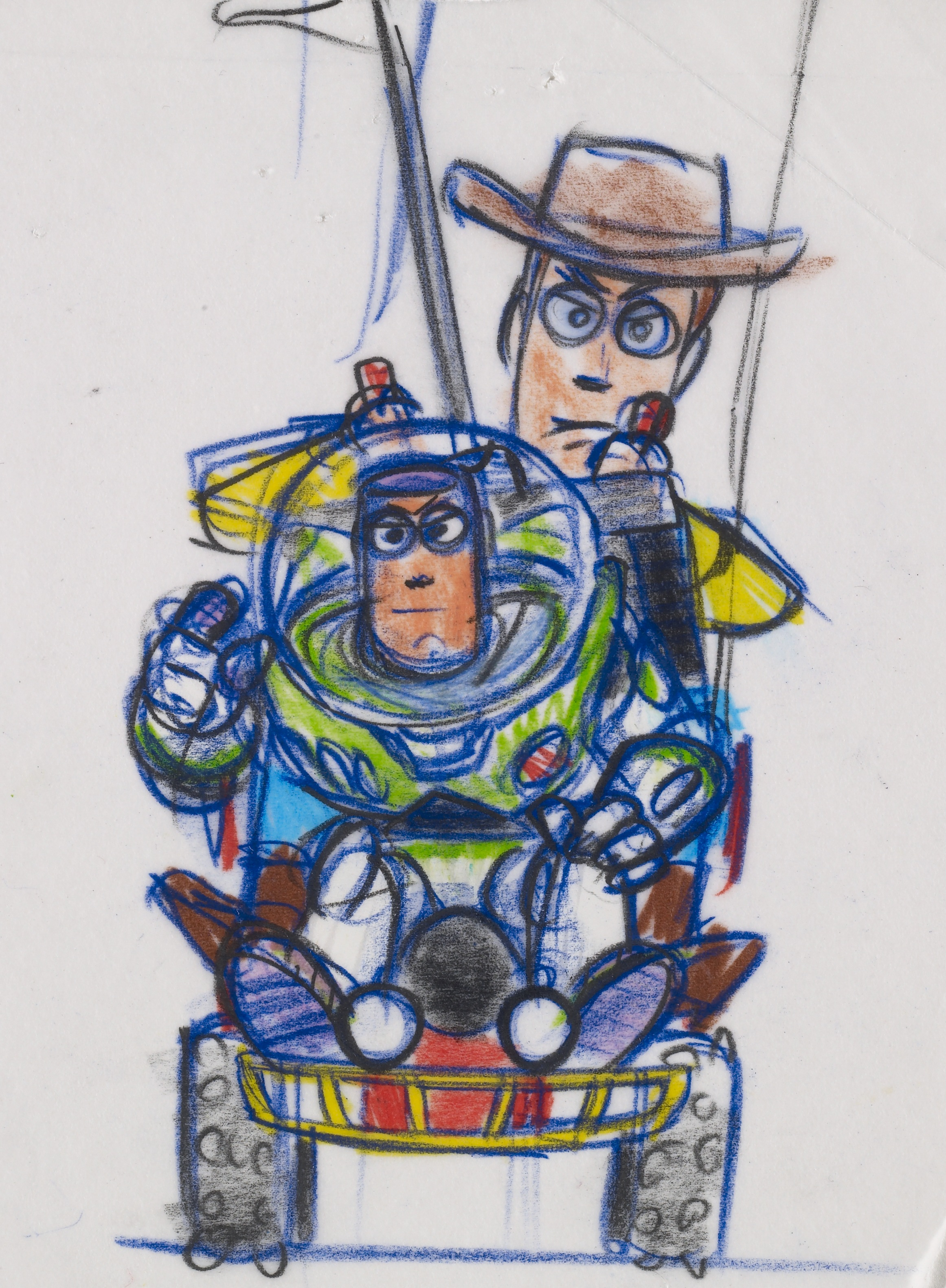 Woody y Buzz (Toy Story, 1995)