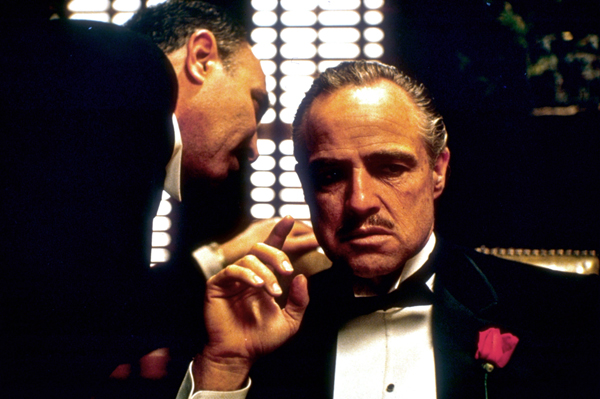 The Godfather movie image Marlon Brando