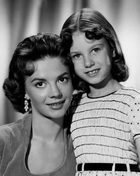 Lana Wood y Natalie Wood