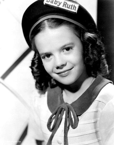 Natalie Wood en edad escolar
