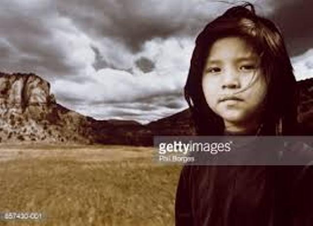 Niña navajo