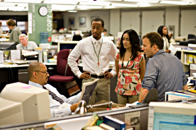the-wire-baltimore-sun-newsroom