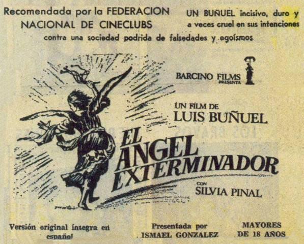 El angel exterminador Buñuel