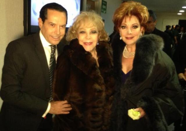 Silvia Pinal y Jacqueline Andere