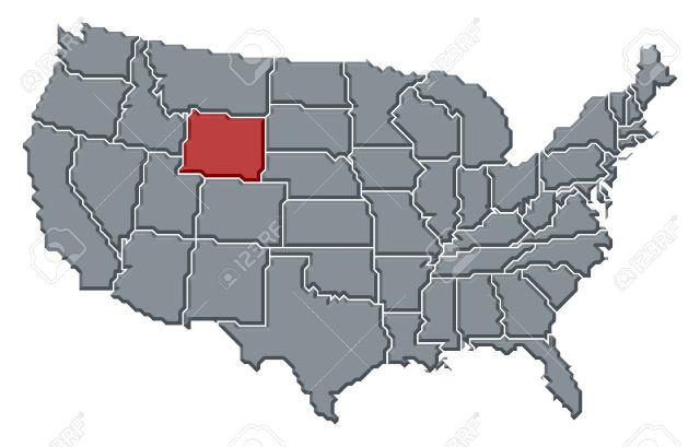 condado de Johnson en Wyoming