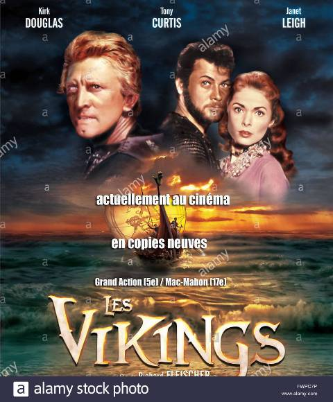 les-vikings-the-vikings-1958-ral-richard-fleisher-tony-curtis-janet-FWPC7P