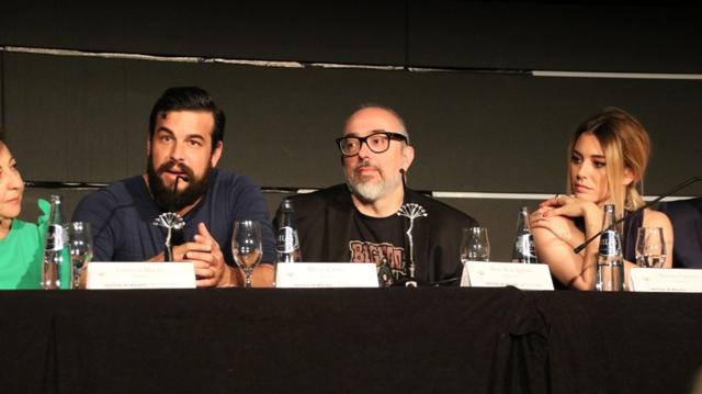 Festival Málaga 2017 - El bar - Rueda de prensa