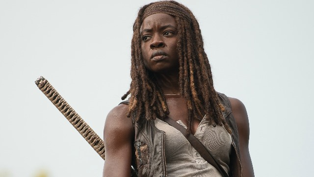 Danai Gurira as Michonne - The Walking Dead _ Season 6, Episode 10 - Photo Credit: Gene Page/AMC