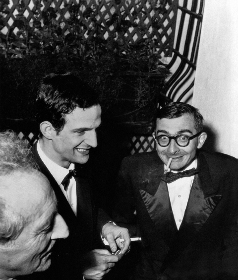 François Truffaut y Claude Chabrol