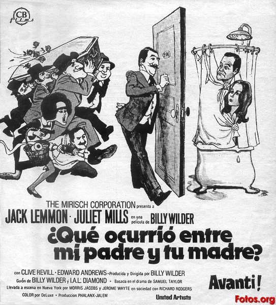 1972-Que-ocurrio-entre-mi-padre-y-tu-madre-Billy-Wilder-Cliche-prensa