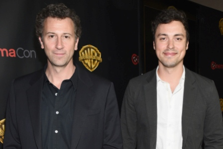 "LAS VEGAS, NV - APRIL 21:  Writer/directors Jonathan M. Goldstein (L) and John Francis Daley attend Warner Bros. Pictures Invites You to ""The Big Picture"", an Exclusive Presentation Highlighting the Summer of 2015 and Beyond at The Colosseum at Caesars Palace during CinemaCon, the official convention of the National Association of Theatre Owners, on April 21, 2015 in Las Vegas, Nevada.  (Photo by Michael Buckner/Getty Images for CinemaCon)"