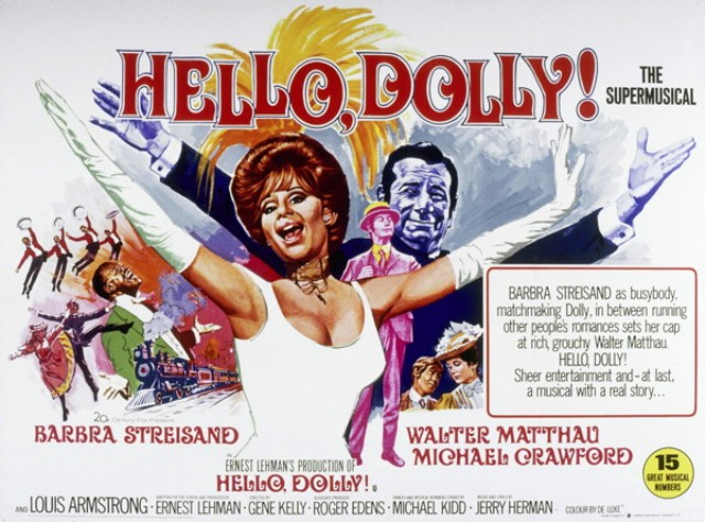 Hello Dolly (1969) | Pers: Barbra Streisand | Dir: Gene Kelly | Ref: HEL023CZ | Photo Credit: [ 20th Century Fox/Chenault / The Kobal Collection ] | Editorial use only related to cinema, television and personalities. Not for cover use, advertising or fictional works without specific prior agreement