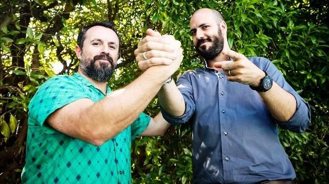 Sitges  12 10 2017  Caye Casas i Albert Pinto  directors del fim Matar a Dios  Festival de Cinema de Sitges  Foto Robert Ramos