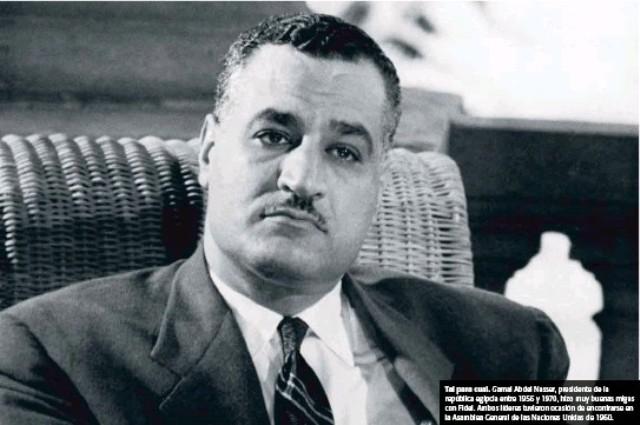 Gamal Abdel Nasser de Egipto