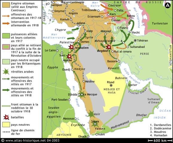 arabia priemra guerra mundial