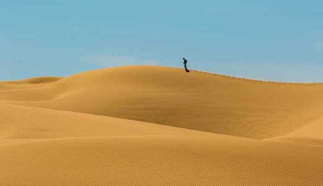 desierto Imperial Sand Dunes, en California