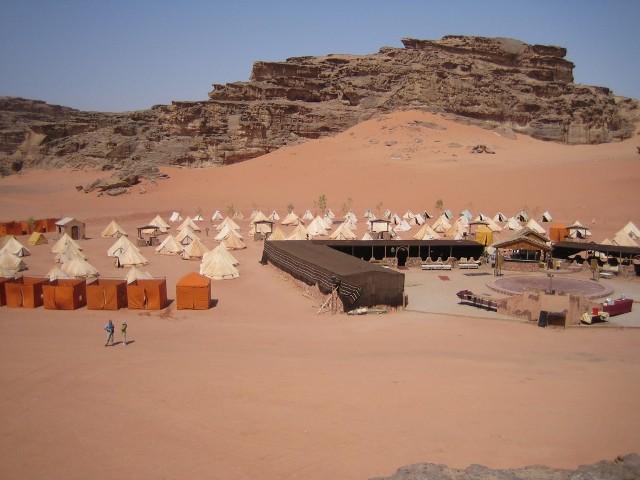 desierto jordano de Wadi Rum