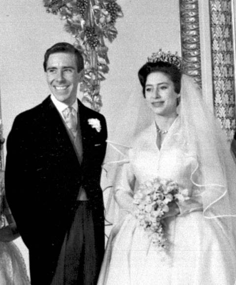 matrimonio de Margarita con Lord Snowden