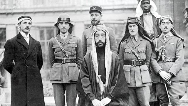 príncipe Faisal de la dinastía hachemita